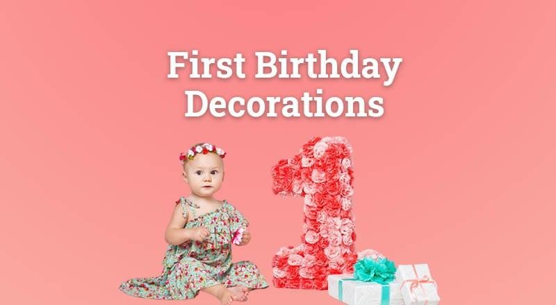 First Birthday Decoration for Kids | 1st Birthdays