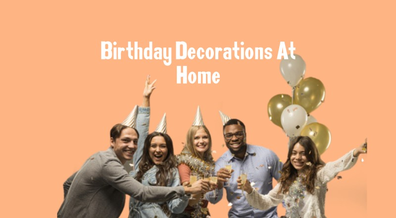 Birthday Decoration at Home