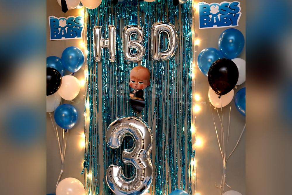 Arrange a charming celebration for your kid's birthday with CherishX's amazing decorations!