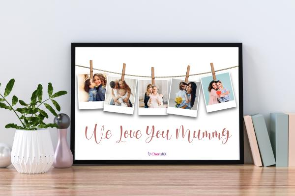 Personalised Frame for Mother
