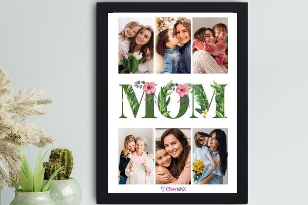 Surprise your mom this mother's day with CherishX's MOM Special Frame!