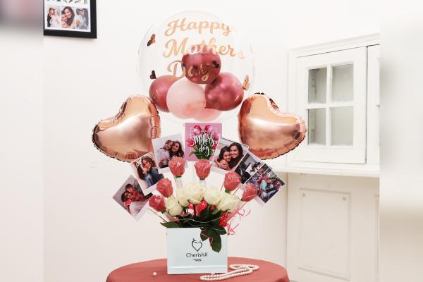 Rose Gold Personalised Bucket