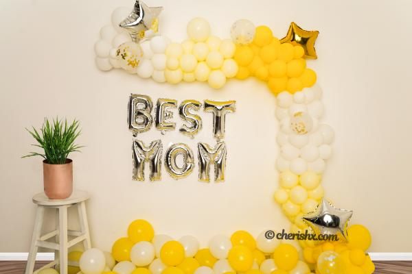 Special Balloon Decoration Surprise for MOM