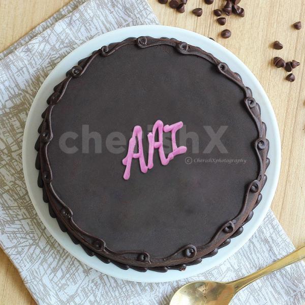 Chocolatey Cake for Aai