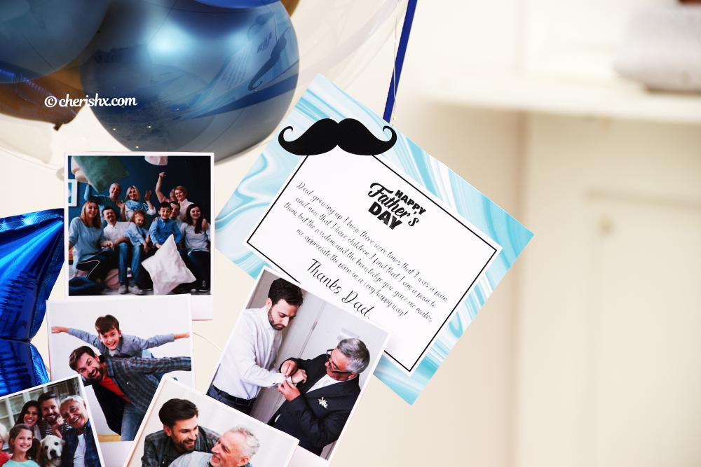 Book this loving Father's Day Bucket and make your dad feel special!