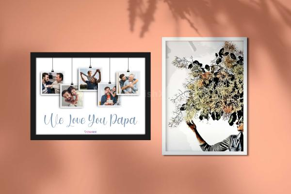 Celebrate Father's Day with CherishX's 'I Love You Dad' Frame!