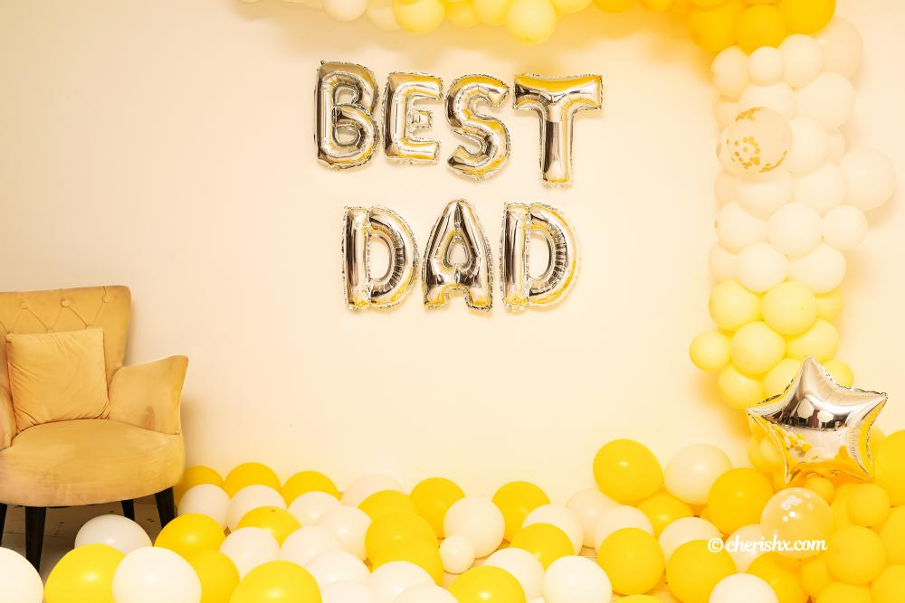 CherishX offers you the best dad decoration to surprise your dad!
