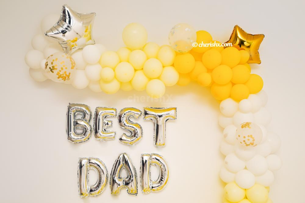 A beautiful decor by CherishX to celebrate Father's day at your home!