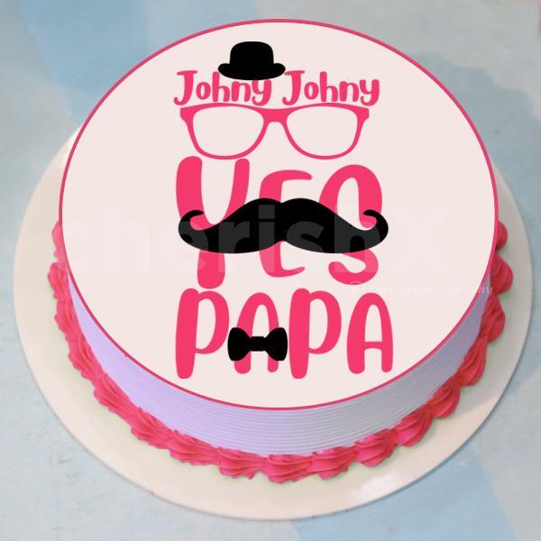 'Johny johny yes papa' Designer Cake