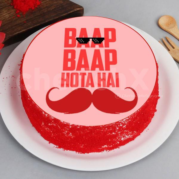 'Baap Baap hota hai' Designer Cake
