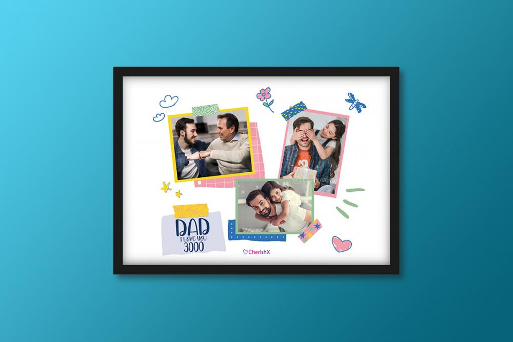 Book a wonderful Father's Day Frame that gives you the feel of Avengers!
