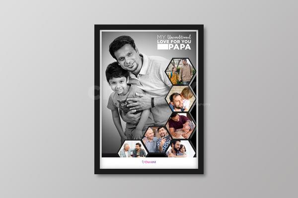 A Frame that'll let your dad know your unconditional love towards him!