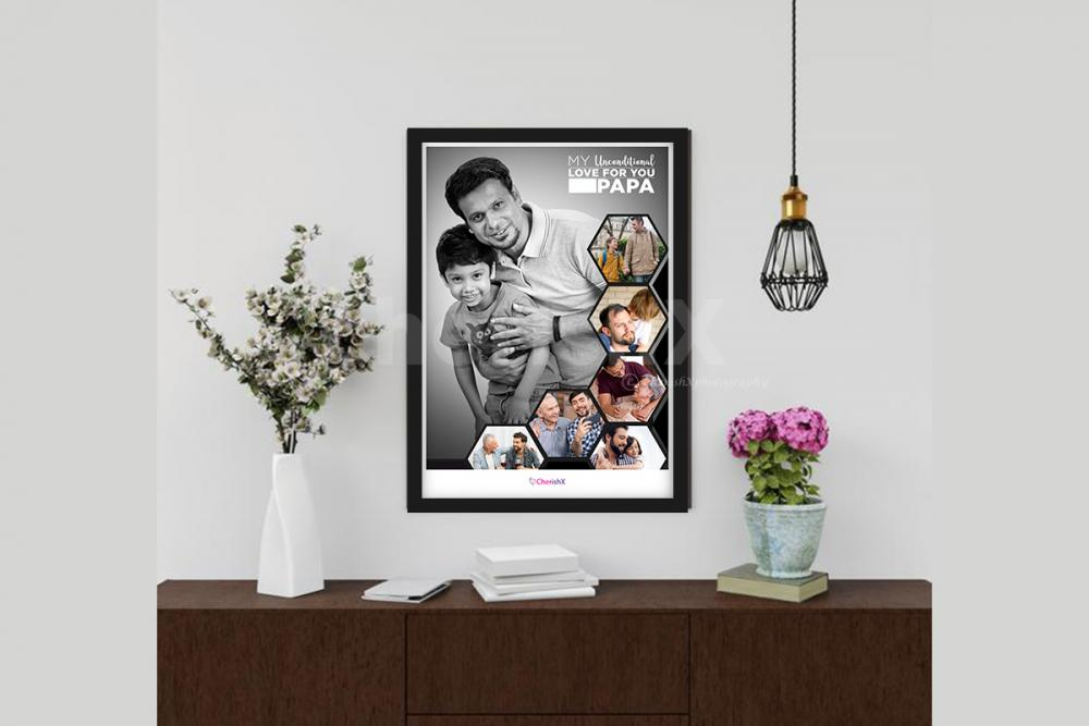 One of the best dad photo frame to gift your dad!