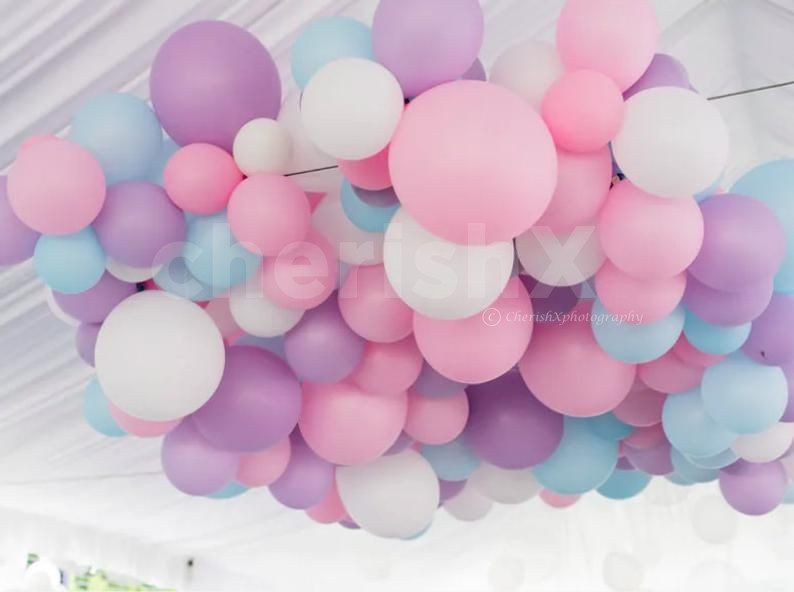 Add 100 more balloons