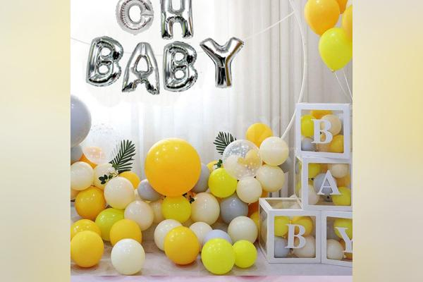 CherishX offers you this elegant decor to make baby showers more beautiful!