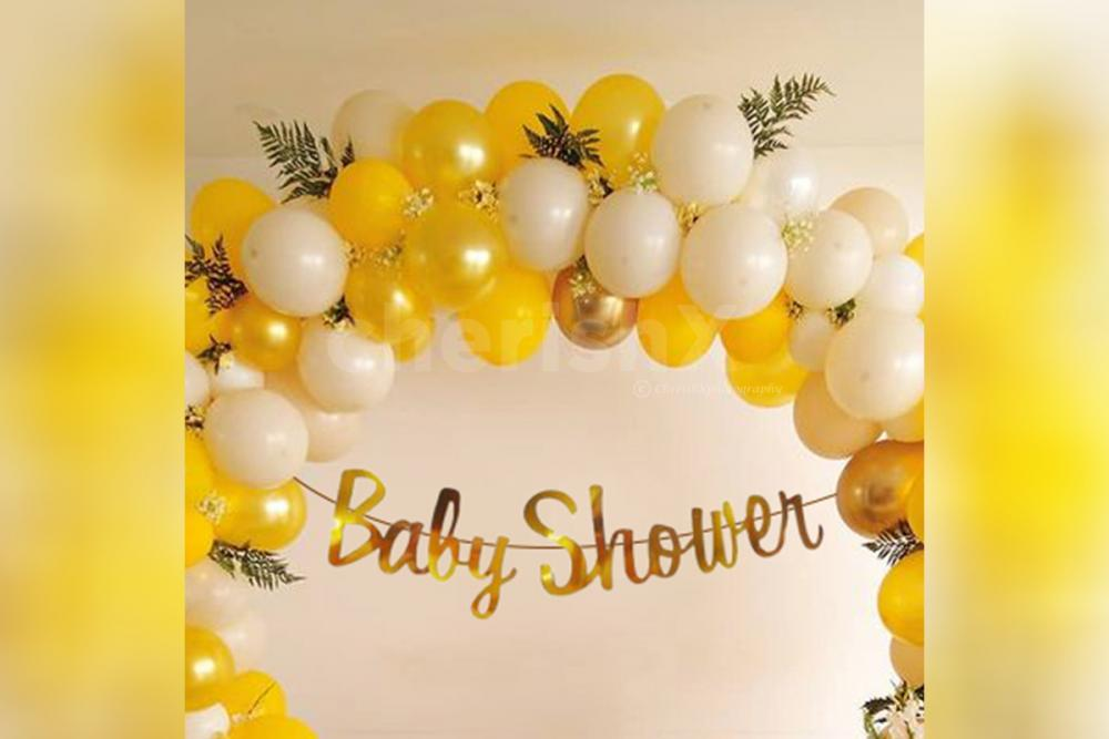 Celebrate the special event with special ring balloon baby shower decor by CherishX!