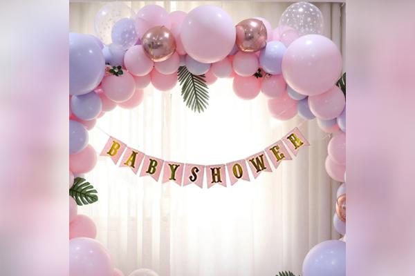 A breathtaking baby shower decor for memorable celebrations.