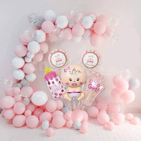 Pastel Pink Welcome Baby Girl Decoration