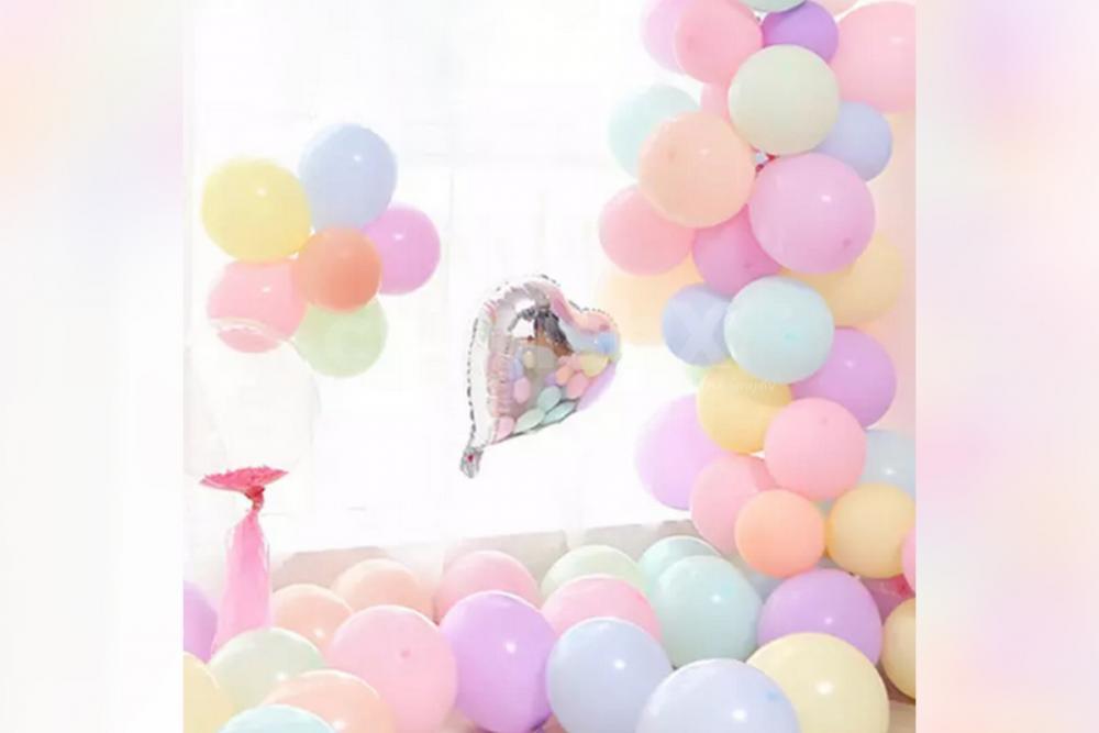 Celebrate Baby shower beautifully with CherishX's Multicoloured Baby shower balloon decor!
