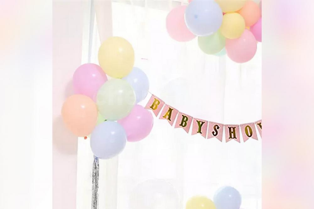 Multicolour Baby Shower Balloon Decor