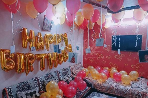 Birthday Balloon Decoration at your Home