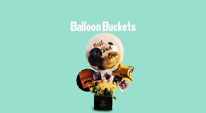 Bubble Balloon Buckets
