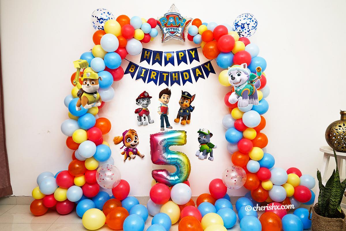 Paw Patrol Theme Birthday Decoration for your Kids