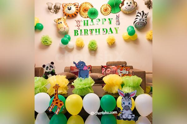Forest Theme Birthday Decor