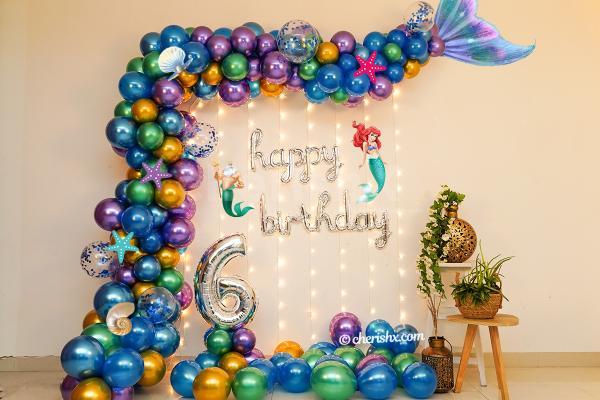Mermaid Theme  Birthday Decor