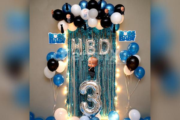 Boss Baby Birthday Surprise Decor
