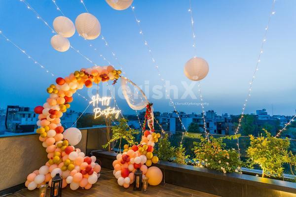 Sparkling Birthday Neon Lights Decor