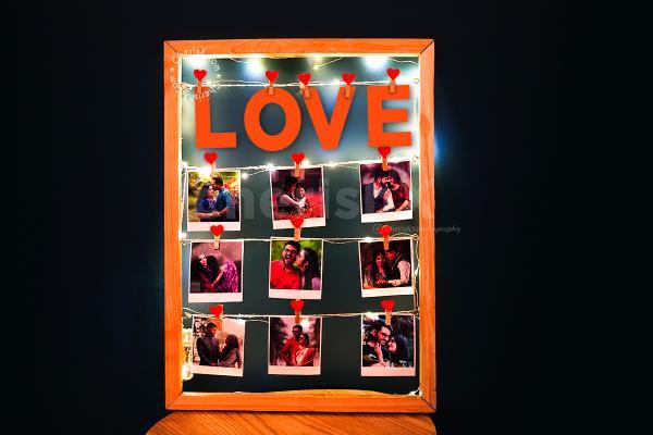 LOVE Memory String Photo Frame