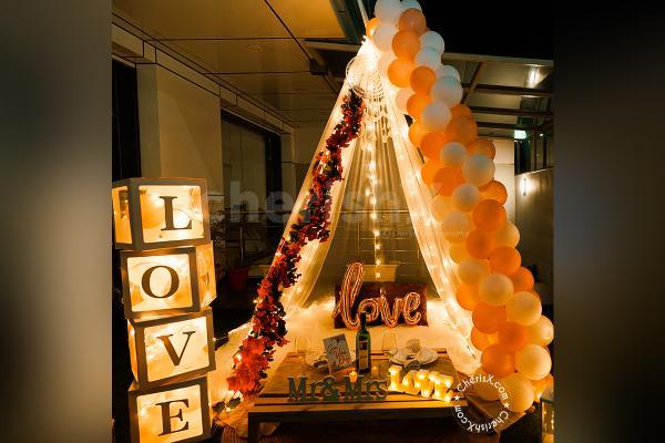 Romantic Boho Love Canopy Decor
