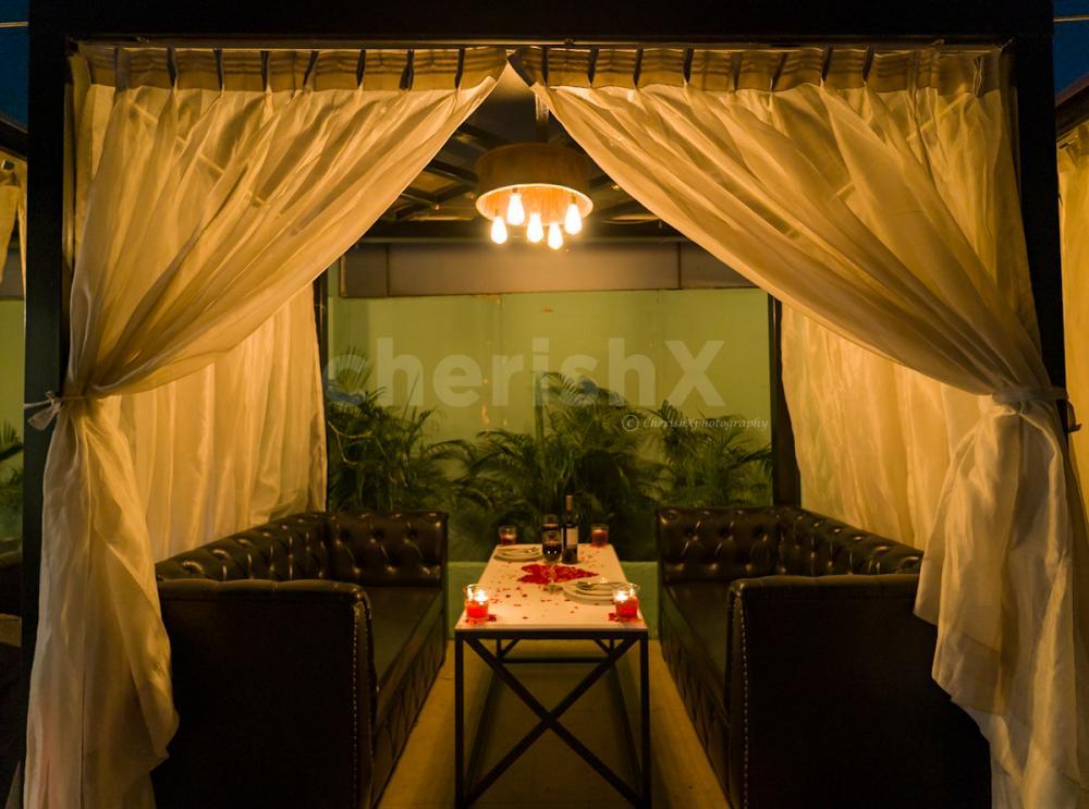 Karwachauth Romantic Cabana Dining