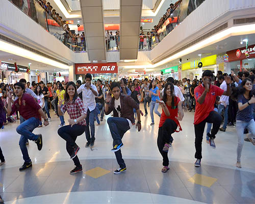 Flash your love with a surprising Flash Mob by CherishX!